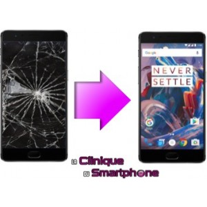 Remplacement Bloc Ecran OnePlus 3