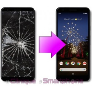 Remplacement Vitre Tactile + Ecran pOled Google Pixel 3a