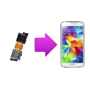 Changement lecteur SIM  SAMSUNG Galaxy S5 -I9605