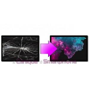 Remplacement Vitre tactile + Ecran LCD pour Microsoft Surface Pro 7