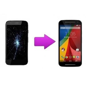 Changement écran tactile + LCD Motorola G2 (XT 1062 )
