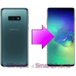 Remplacement Vitre arrière Samsung Galaxy S10, S10e, S10+