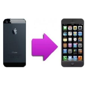 Changement coque complète  arrière iphone 5