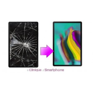 "Remplacement Vitre Tactile + Ecran Amoled Samsung Galaxy Tab S5E  10,5"" (T720/725)"