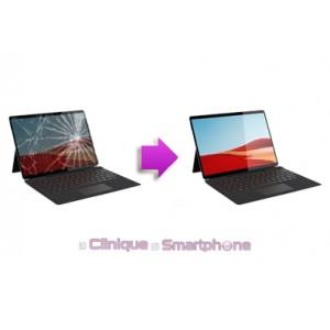 Remplacement Vitre tactile + Ecran LCD pour Microsoft Surface Pro X