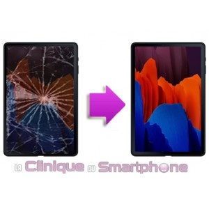 """Changement LCD + Tactile SAMSUNG TAB S7+ 12,4"""" (T970/T976)"""