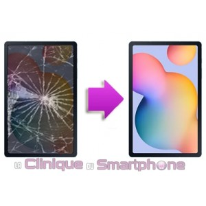 Changement LCD + Tactile SAMSUNG TAB S6 Lite P610 (2020)