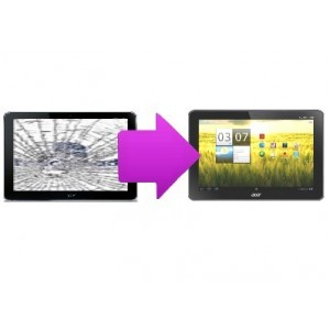 Remplacement Vitre tactile Tablette ACER Iconia A200 / A210