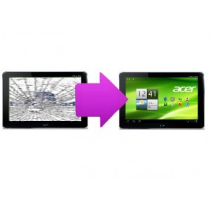 Changement vitre tactile Acer Iconia A210