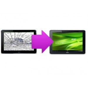 Changement vitre tactile Acer Iconia A700