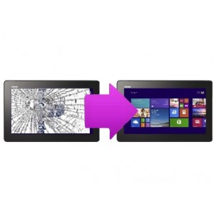 Changement vitre tactile Asus Transformer  Book T100