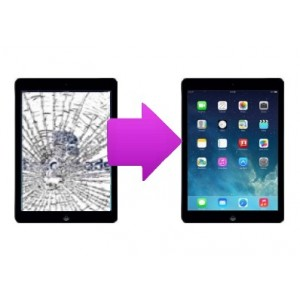 Changement vitre tactile iPad Air