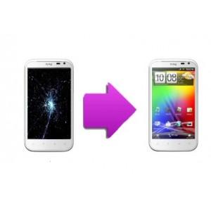 Changement bloc complet  tactile + LCD pour  HTC  XL (G21)