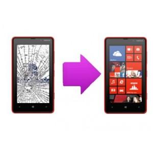Changement tactile  Nokia Lumia 820