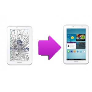 Changement vitre tactile Galaxy Tab 2  7'' P3100
