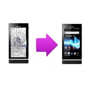 Changement vitre tactile  Sony Xperia U