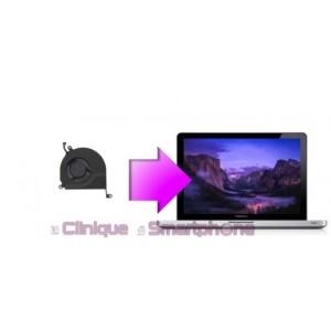 """Remplacement ventilateur interne MacBook Pro 13'', 15'' ou 17"""" à partir de:"""