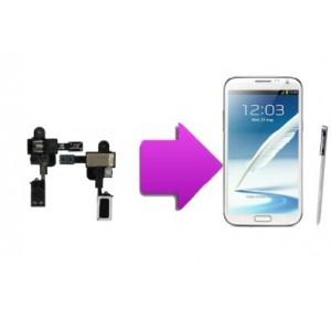 Changement nappe jack/écouteur interne SAMSUNG Galaxy Note 2  -N7100