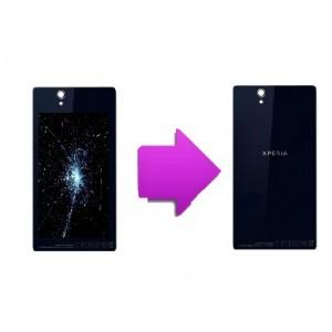 Changement vitre arrière Sony Xperia z1
