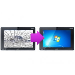 Changement vitre tactile Acer Iconia W500
