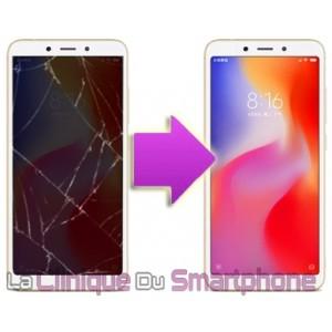 Remplacement Vitre Tactile + Ecran LCD Xiaomi Redmi 6A