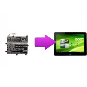 Changement batterie Acer Iconia W700