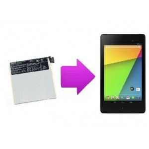 Changement batterie Nexus 7 (2013)