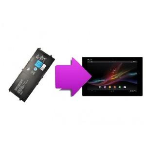 Changement batterie Sony Tab Z