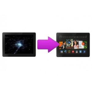 """Changement bloc écran (LCD+Tactile) Amazon Kindle HDX 7"""""""