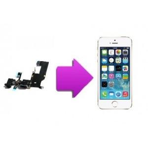 Changement nappe connecteur de charge et jack iPhone SE