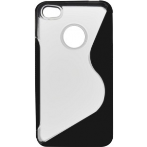 Coque silicone style S iPhone 4/4S