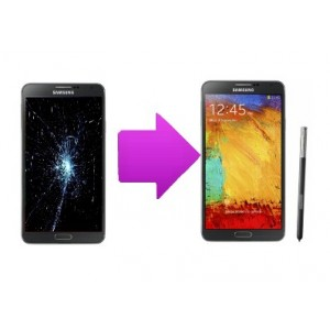 Changement LCD + vitre tactile SAMSUNG Galaxy Note 3 - N9005