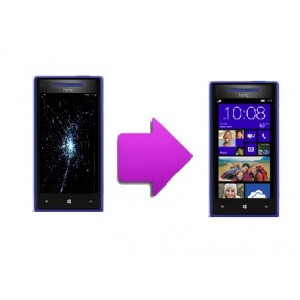 Changement LCD + vitre tactile HTC 8X