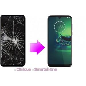 Remplacement Vitre Tactile + Ecran LCD Motorola G8 (XT 2045)
