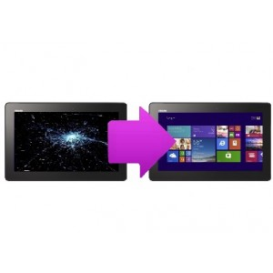 Changement  LCD Asus Transformer  Book T100