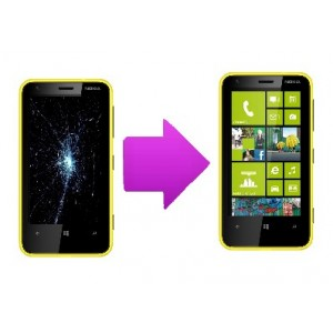 Changement  écran lcd  Nokia Lumia 620