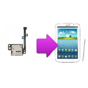 Réparation lecteur SIM SAMSUNG Galaxy note 8'' N5100