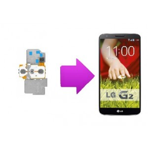 Changement nappe power LG Optimus G2 (D805)