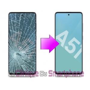 Remplacement Vitre tactile + Ecran Amoled Samsung Galaxy A51 (A515F)
