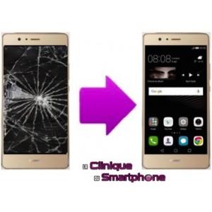Remplacement Vitre Tactile + Ecran LCD Huawei P9 Lite