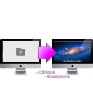 Réinstallation de système + Sauvegarde de données iMac