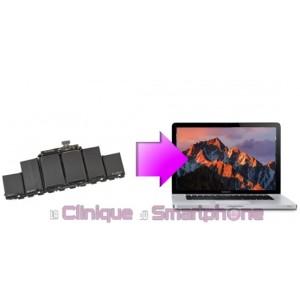 Remplacement Batterie MacBook Pro Rétina à partir de: