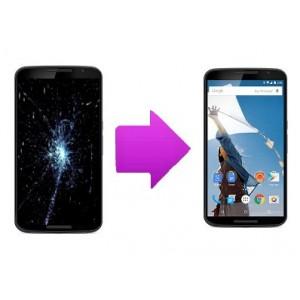 Changement bloc écran Motorola Nexus 6