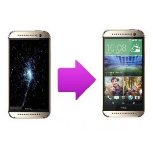 Remplacement bloc écran tactile + LCD pour  HTC  one M8