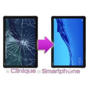 "Changement Vitre Tactile + Ecran LCD Huawei M5 Lite 10"""