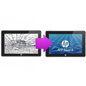 Changement vitre tactile HP Slate 8 Pro