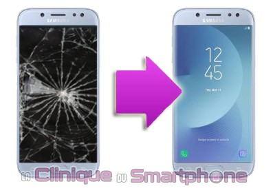 remplacement cran galaxy j5 2017 la clinique du smartphone